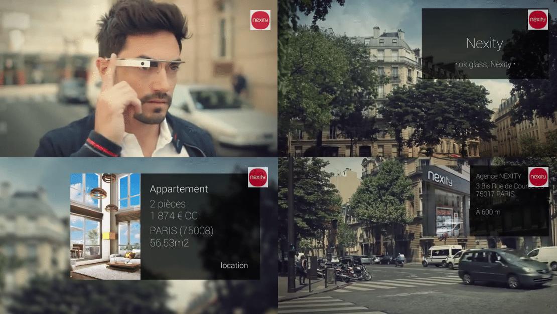 Les Google Glass ou comment interagir avec l'environnement dans lequel on se trouve !