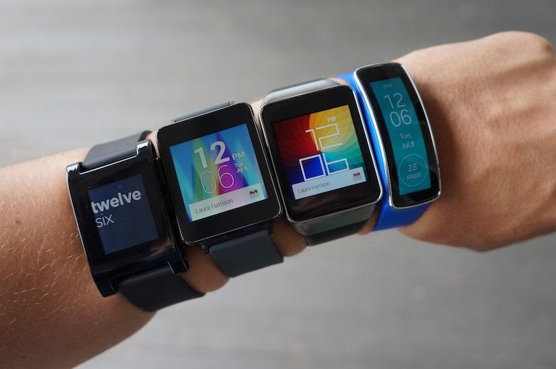 Les applications professionnelles pour montres connectées