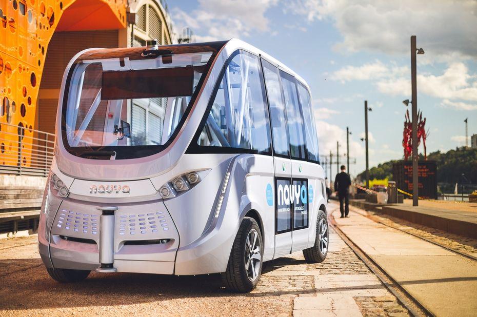 taxis autonomes navya