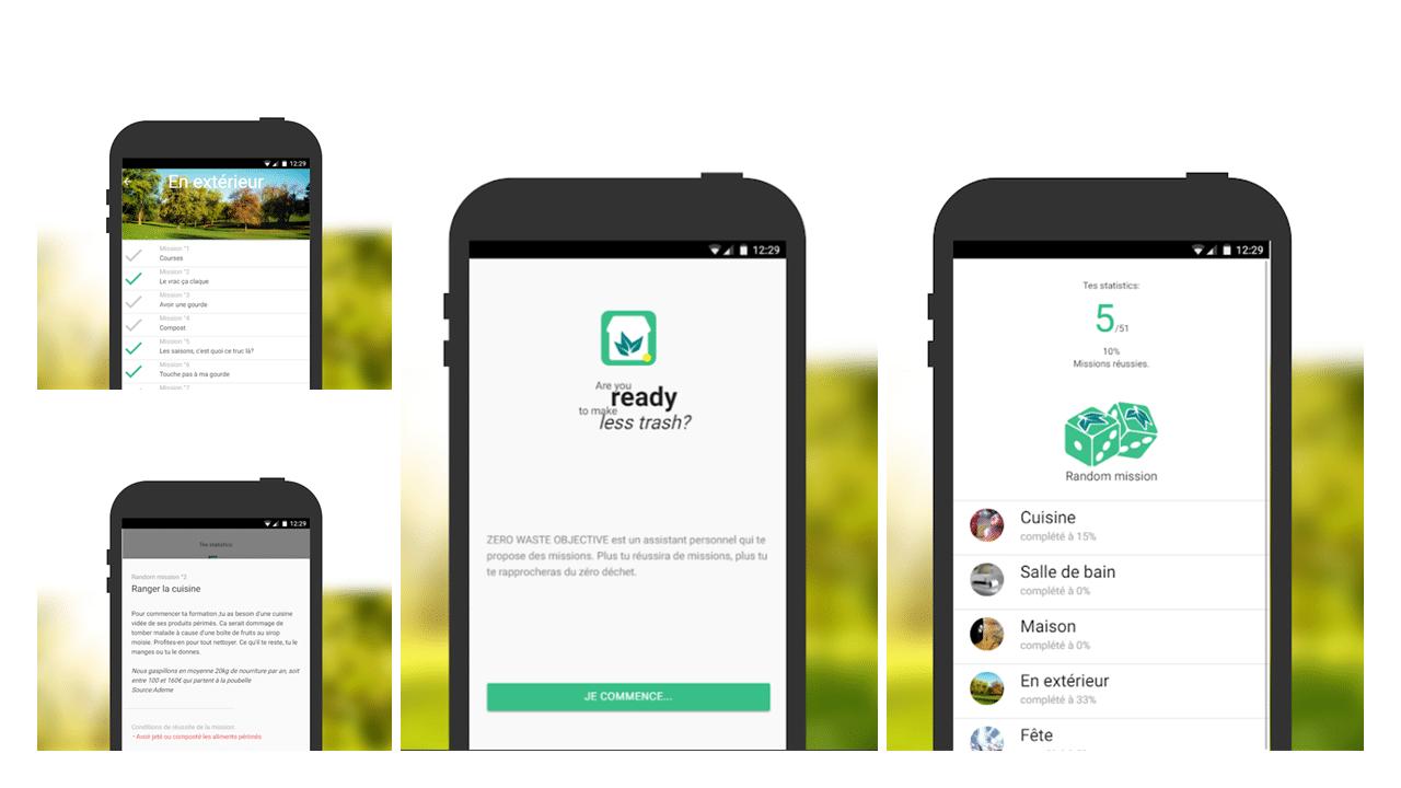 App zero waste